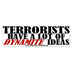 Dynamite Ideas Sticker (Bumper)
