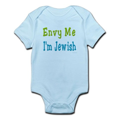 Envy Me I'm Jewish Infant Bodysuit