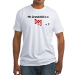 Dog Grandchild Fitted T-Shirt