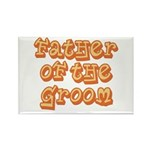 Father of the Groom Rectangle Magnet (10 pack)