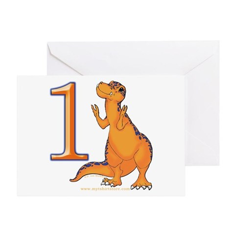 1st Birthday Cards For Boys. Kids Dino 1St. Birthday Card