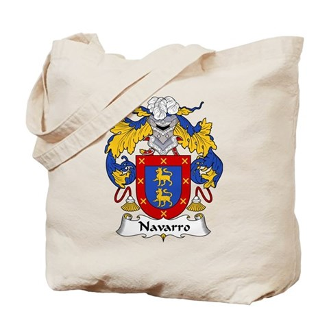 Navarro Family Crest Mouse Pad by coatsofarms