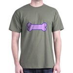 Subtle Dog Bone Dark T-Shirt