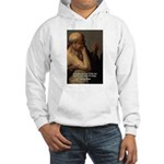 Ancient Greek Philosophy: Heraclitus Hooded Sweats