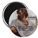Ancient Greek Philosophy: Aristotle Magnet