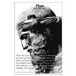 Plato Truth Reality Large Poster