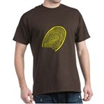 Subtle Thumb Print Dark T-Shirt