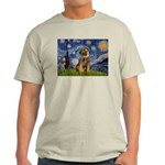 Starry Night / Border Terrier Light T-Shirt