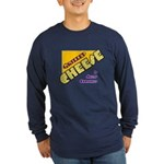 Grilled Cheese Long Sleeve Dark T-Shirt