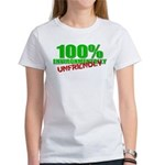 100% Environmentally Unfriend Women's T-Shirt