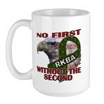 Conservative Second Amendment Large Mug