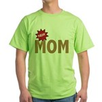 New Mom Mother First Time Green T-Shirt