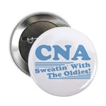 """CNA Sweatin' With The Oldies 2.25"""" Button (10 pack"""