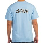 Carrie's Personalized Skwurl Light T-Shirt