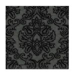 Gothic Lace Damask Tile Coaster