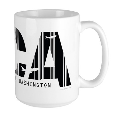 Washington, DC DCA Air Wear Large Mug