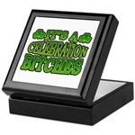 It's a Celebration Bitches Shamrock Keepsake Box