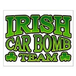 Irish Car Bomb Team Shamrock Small Poster