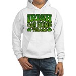 Irish Car Bomb Team Shamrock Hooded Sweatshirt