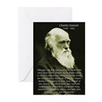 Charles Darwin: Science Greeting Cards (Package of