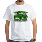 St. Patrick University School of Blarney White T-S