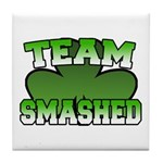 Team Smashed Tile Coaster
