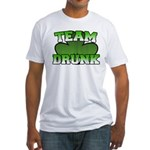 Team Drunk Fitted T-Shirt