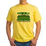 Team Leprechaun Yellow T-Shirt