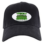 Team Green Black Cap