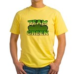 Team Green Yellow T-Shirt