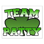 Team Patty Small Poster