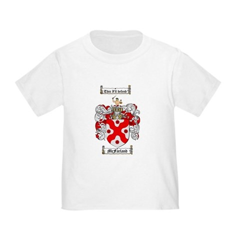 CafePress > T-shirts > McFarland Family Crest T. McFarland Family Crest T