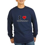 I (heart) Compliance Long Sleeve Dark T-Shirt