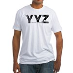 Toronto Canada YYZ Air Wear Fitted T-Shirt