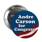 Andre Carson for Congress Button