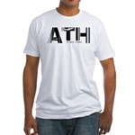 Athens Airport Code ATH Greece Fitted T-Shirt