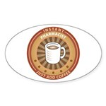 Instant Pharmacist Oval Sticker (10 pk)