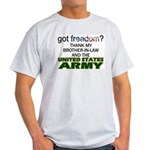 U.S. Army (Brother-In-Law) Ash Grey T-Shirt