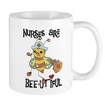 Nurses Are Bee-utiful Mug