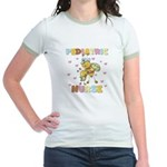 Bee Pediatric Nurse Jr. Ringer T-Shirt