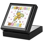 Bee Pediatric Nurse Keepsake Box