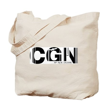 Cologne CGN Germany Air Wear Code Tote Bag