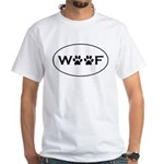 Woof Paws White T-Shirt
