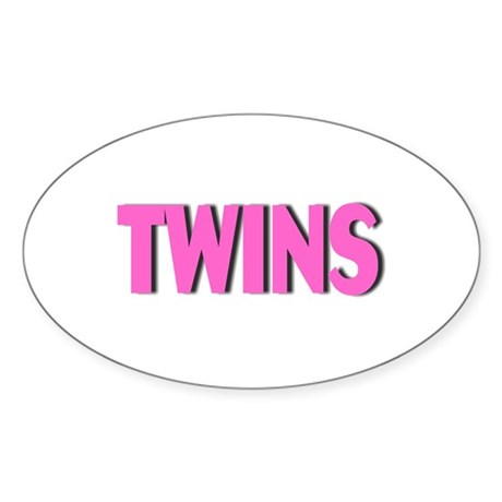 Twins (Pink) Decal
