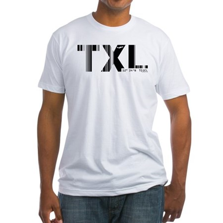Berlin Tegel Airport Germany TXL Fitted T-Shirt