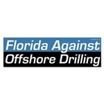Florida Against Offshore Oill Drilling bumper sticker