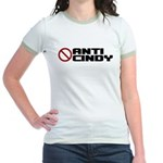 Anti Cindy Sheehan Jr. Ringer T-Shirt