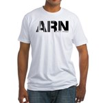 Stockholm Airport Code Sweden ARN Fitted T-Shirt