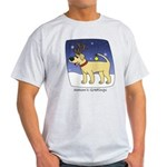 Reindeer Yellow Lab Light T-Shirt