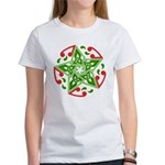 Celtic Christmas Star Women's T-Shirt